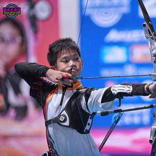 Macau Indoor Archery Open 2019 D3 574ky.