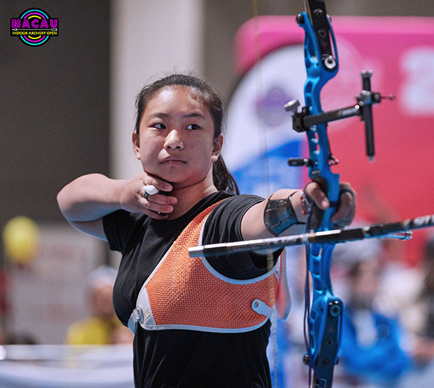 Macau Indoor Archery Open 2019 D4 135ky.