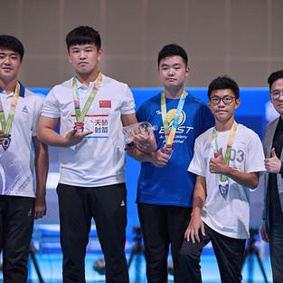 Macau Indoor Archery Open 2019 D4 201ky.