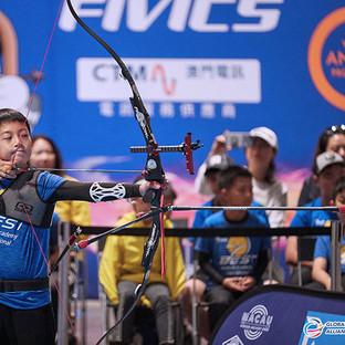 Macau Indoor Archery Open 2019 D3 549ky.