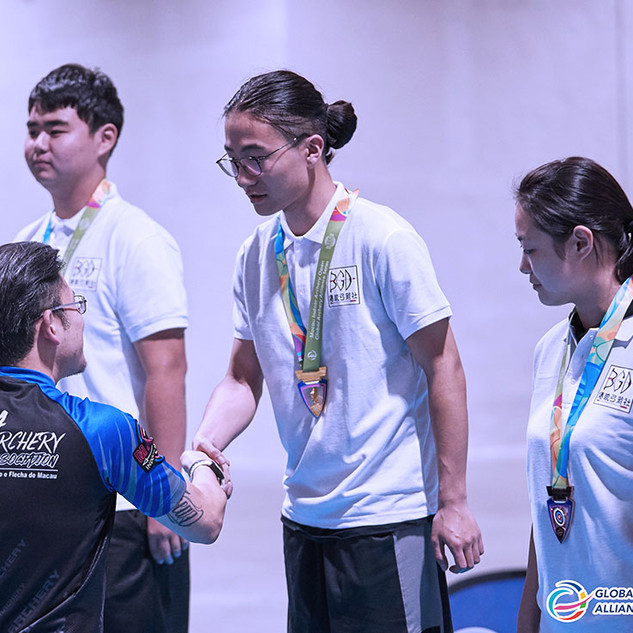 Macau Indoor Archery Open 2019 D1E 145ky