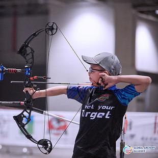 Macau Indoor Archery Open 2019 D3 153ky.