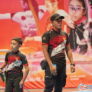 Macau Indoor Archery Open 2019 D3 587ky.