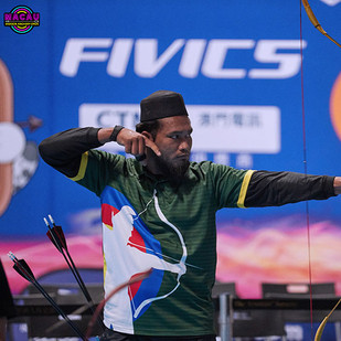 Macau Indoor Archery Open 2019 D2E 338ky