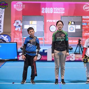 Macau Indoor Archery Open 2019 D3 541ky.