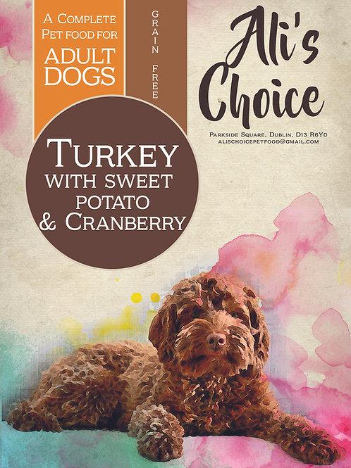 GF Turkey with Sweet Potato & Cranberry