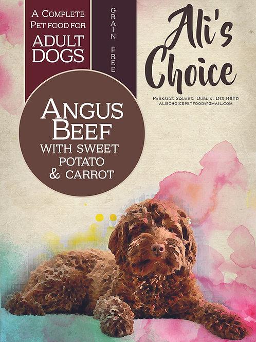 GF Angus Beef with Sweet Potato & Carrot