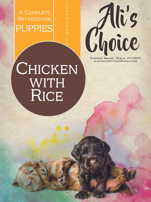 SP Puppy Chicken with Rice