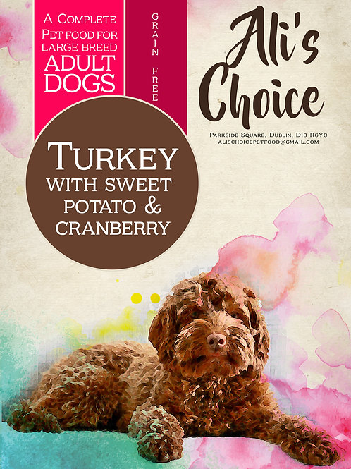 GF Large Breed Turkey with Sweet Potato & Cranberry