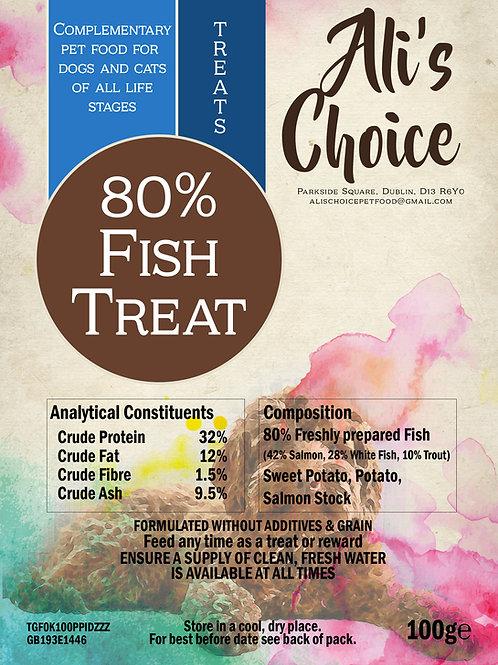 80% Fish Treats