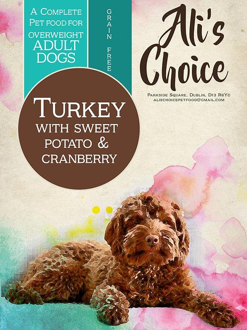 Light GF Turkey with Sweet Potato & Cranberry