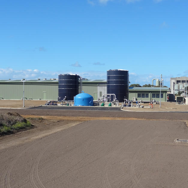 Black Rock Water Recycling Plant
