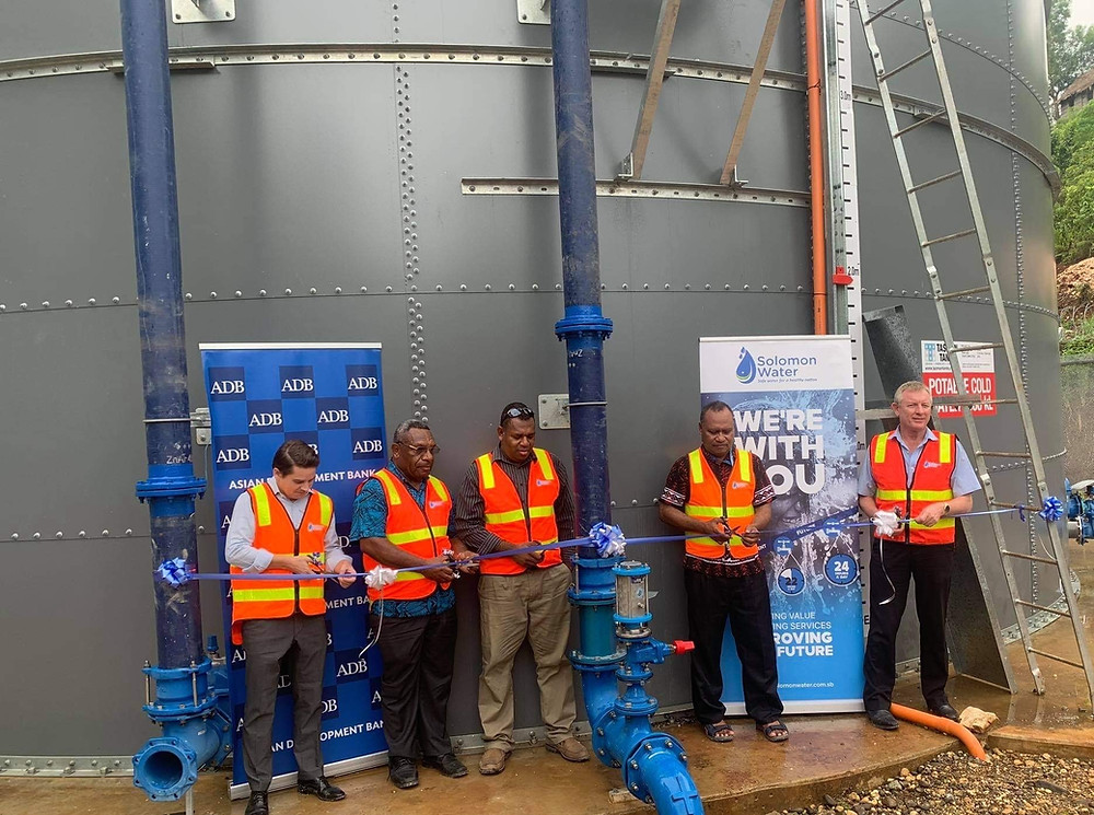 Auki Water Supply Improvement Project