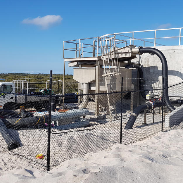 Design and Construction of Jimmy's Beach Sand Replenishment Infrastructure