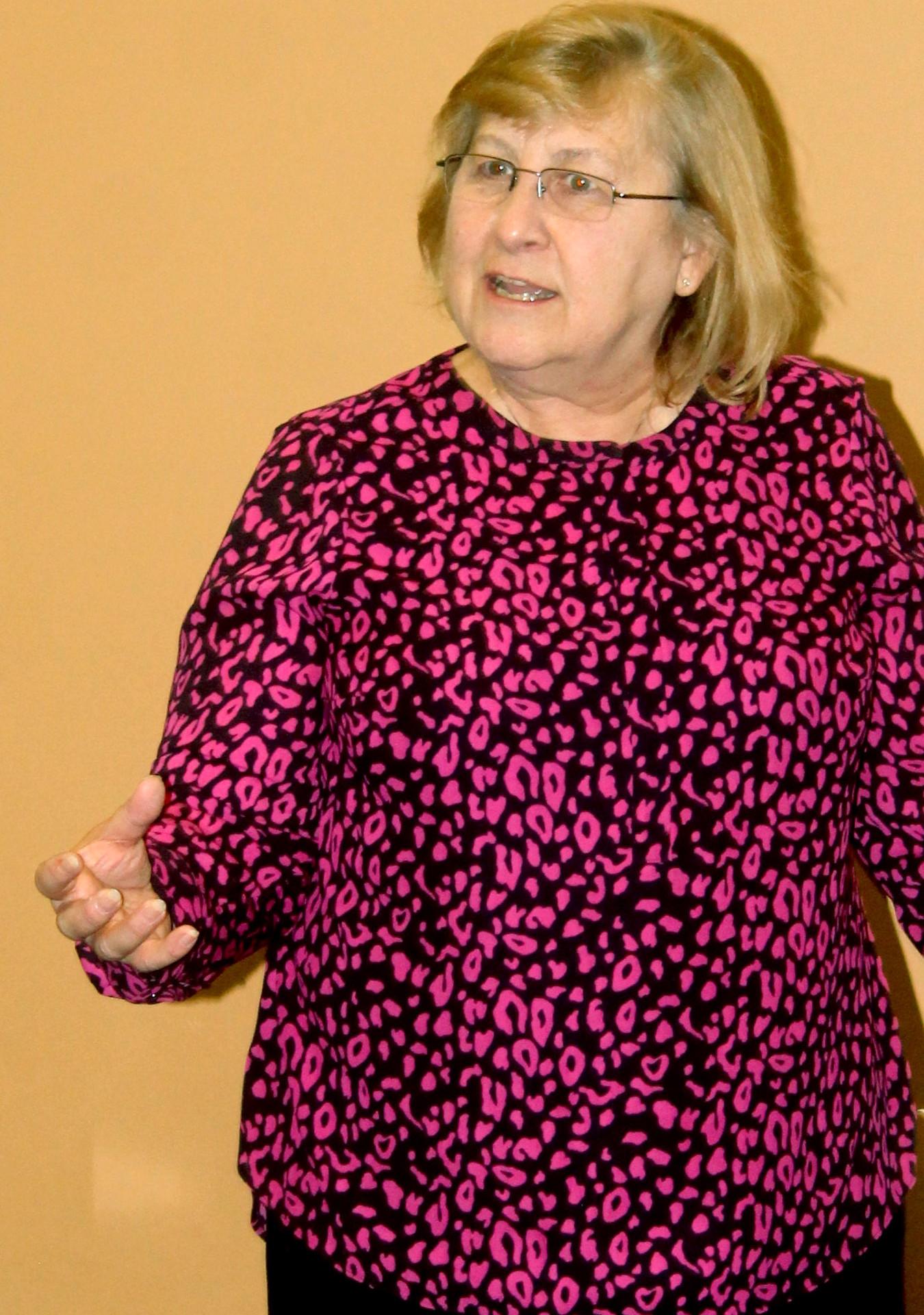 Dr. Linda Elliott, Administrator AEBC