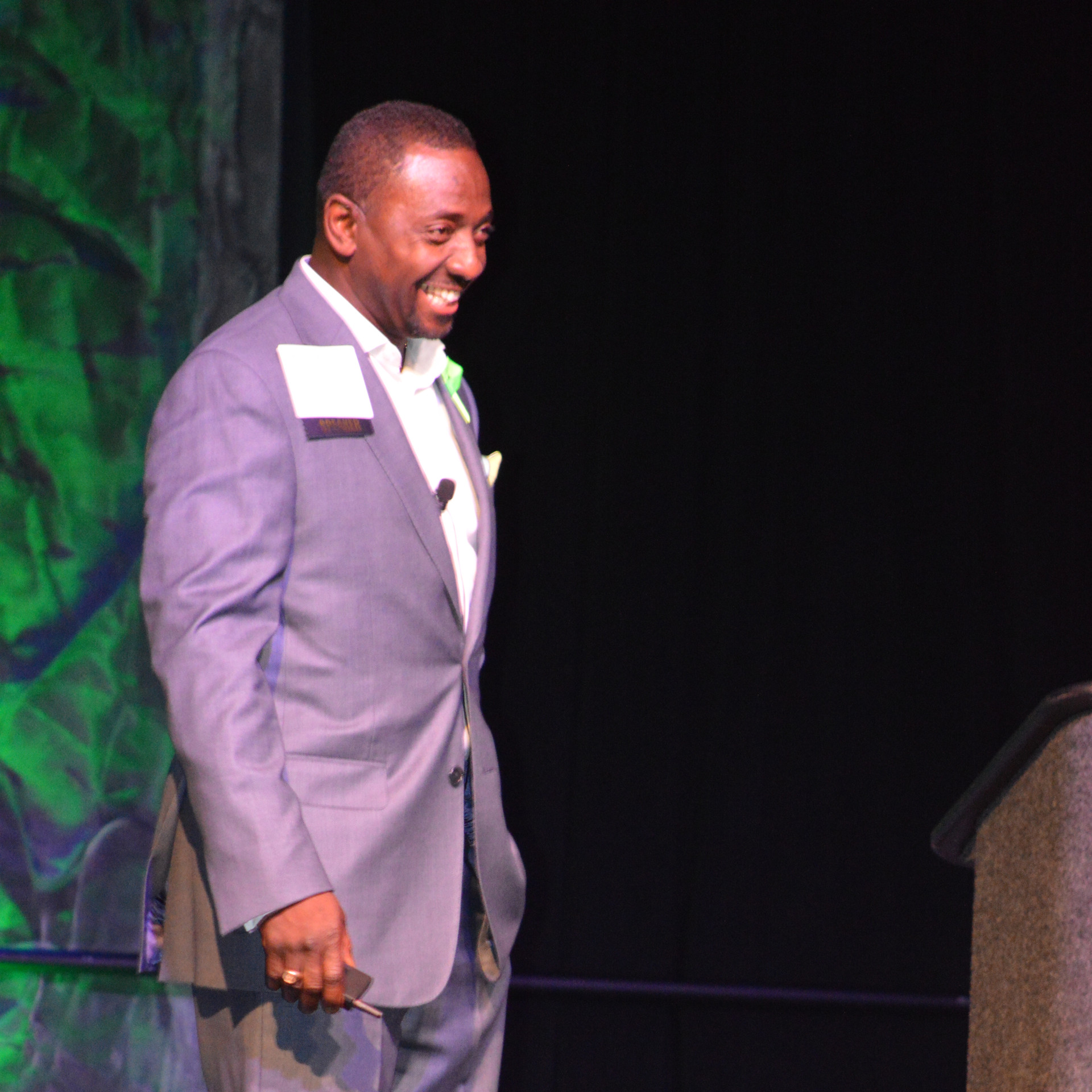 Rev. Lamb, AECC President