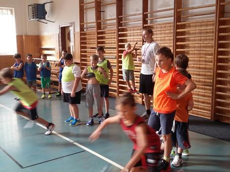 Basketbalová přípravka přivítala malé basketbalisty