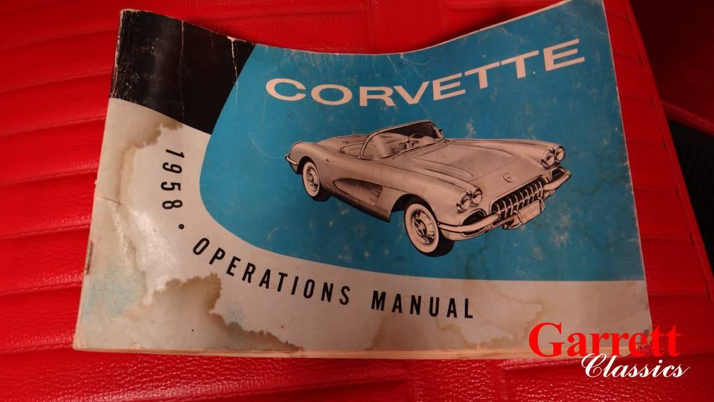 1958 corvette wiring harness 1958 chevrolet corvette  1958 chevrolet corvette