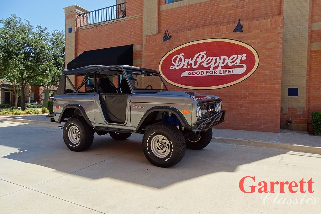 1972 Ford Bronco Sport Cars For Sale Dallas Garrett Classics