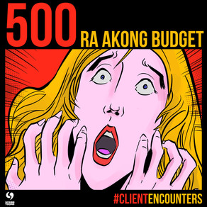 Pa buhat ko Logo, 500 ra ako budget