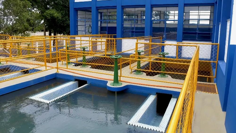 ETA 1 -Sistema de tratamento de água — Foto: Sueli Dorta / Vander Filho
