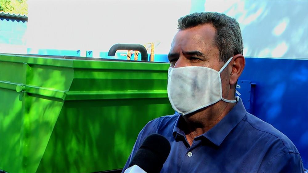 José Eustáquio, coordenador da concessionária que administra o serviço de água e esgoto em Casa Branca, São Sebastião da Grama e Estiva Gerbi. — Foto:  VANDER FILHO