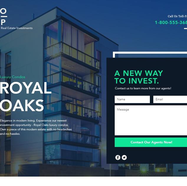 Real Estate Investment website