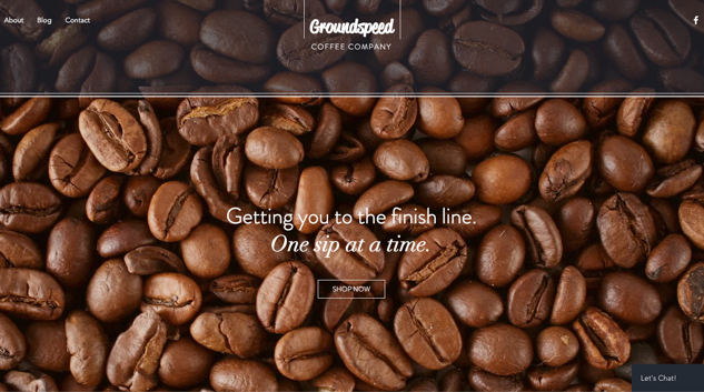 Groundspeed coffee company website