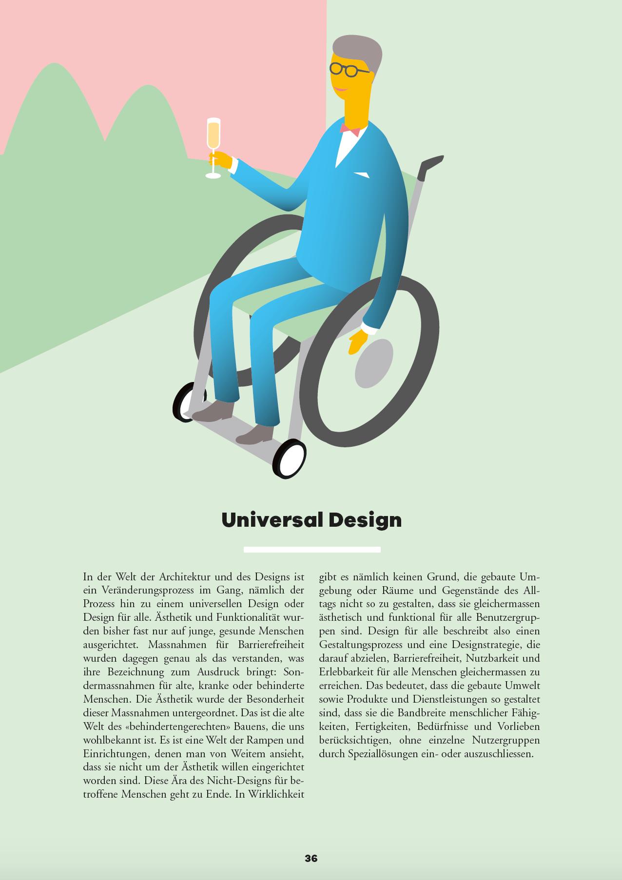 Barrierefreiheit Universal Design