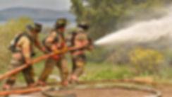 Brattleboro firefighters training