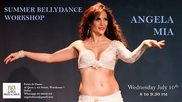 Belly Dance workshop Dubai