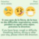 Publication Instagram emojis COVID-19 (2