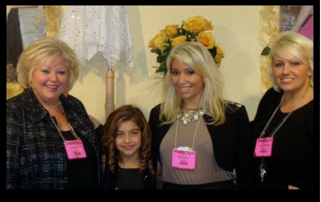 Roseann and Carolyn with Gia