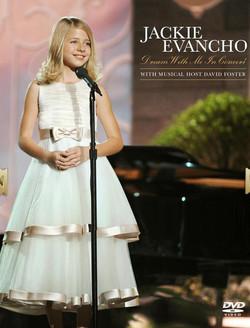 Jackie Evancho in Mon Cheri
