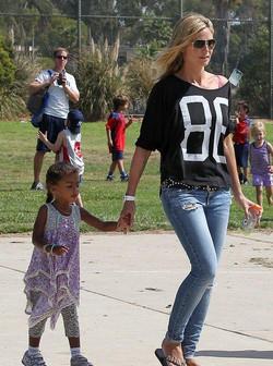 Heidi Klum Loves Little Mass too!