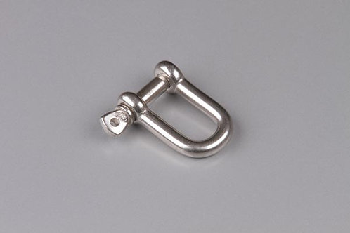 6mm D shackle t316