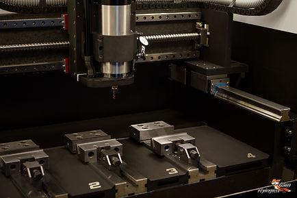 fox precision granite cnc linear roller