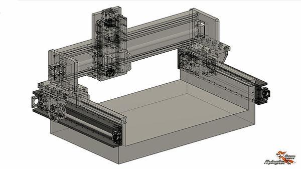 fox precision granite cnc design plan fr