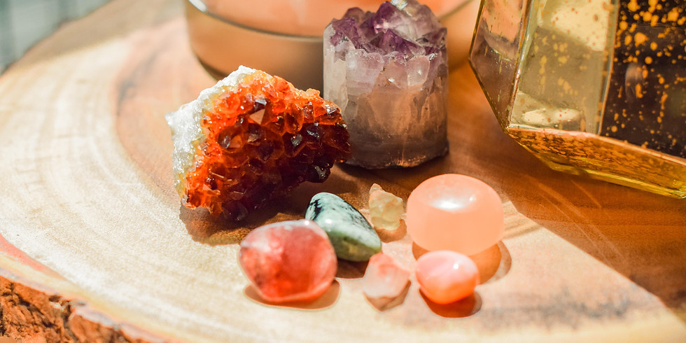 Crystal Therapy Healing Circle: Release