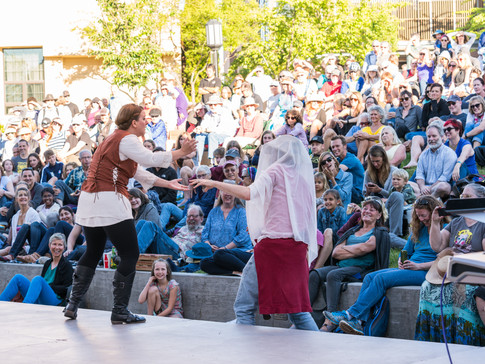 Oregon Shakespeare Festival - Green Show