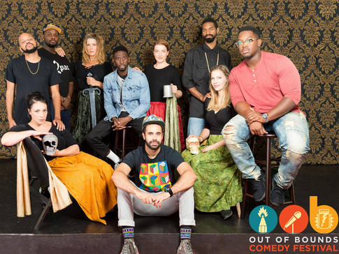 Out of Bounds photo shoot      with White Women