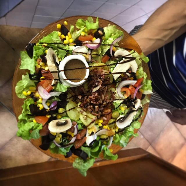 Voici l'assiette du chef #lerelaisdesecr