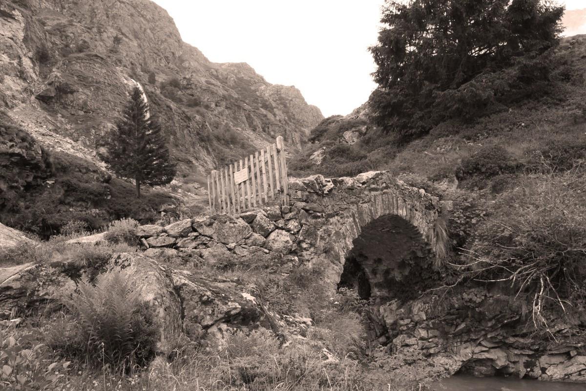 En route vers le refuge de la Lavey