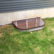 Nice Basement Window Well and safety Grate