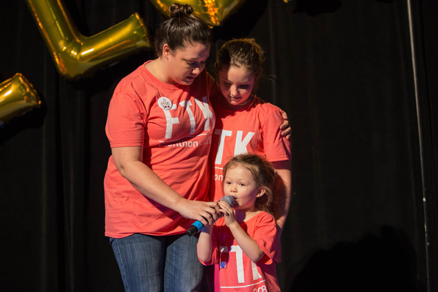 At Elonthon, you get to know not only the Miracle Children, but also their inspiring families.
