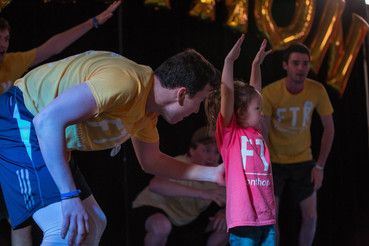 Even our youngest dancers can feel the excitement in the air at Elonthon!