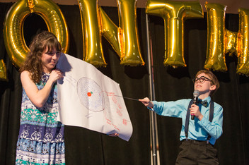When sharing their stories, some of our Miracle Children great creative and put on Tony-worthy performances for us!
