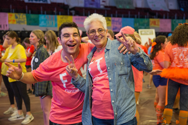 Mother-son love knows no bounds, especially when dancing FTK together!