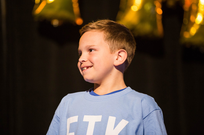 Throughout Elonthon, our Miracle Children and their families go on stage to share their stories. These are by far some of the greatest moments in the 24 hours!