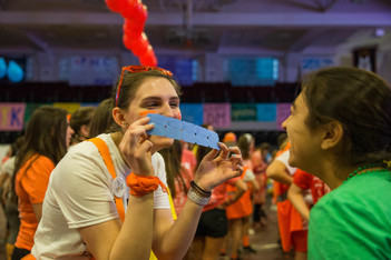 Nothing but smiles and laughs while dancing FTK!